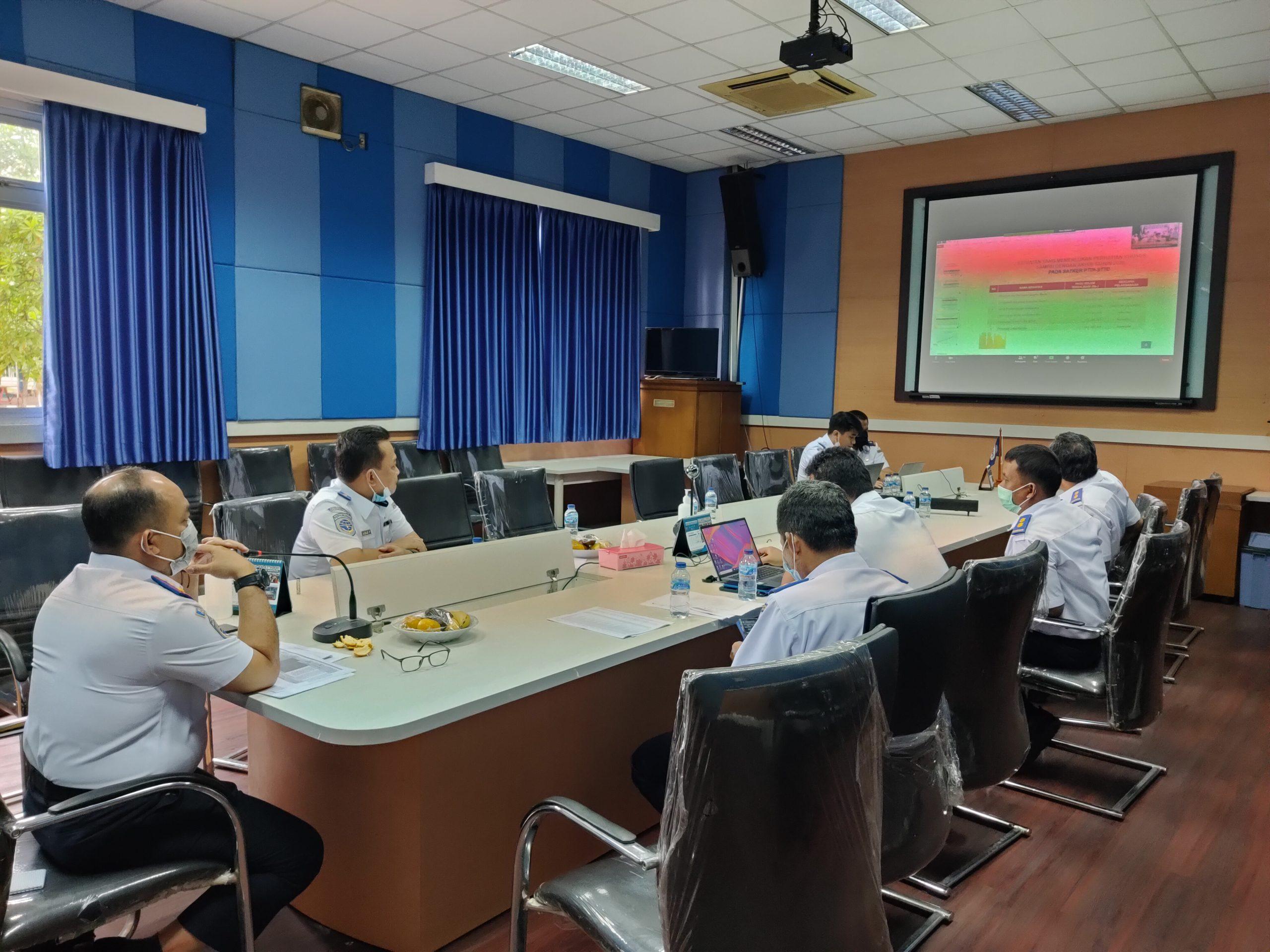 Rapat pembahasan penyerapan anggaran BPSDM Perhubungan TA 2020