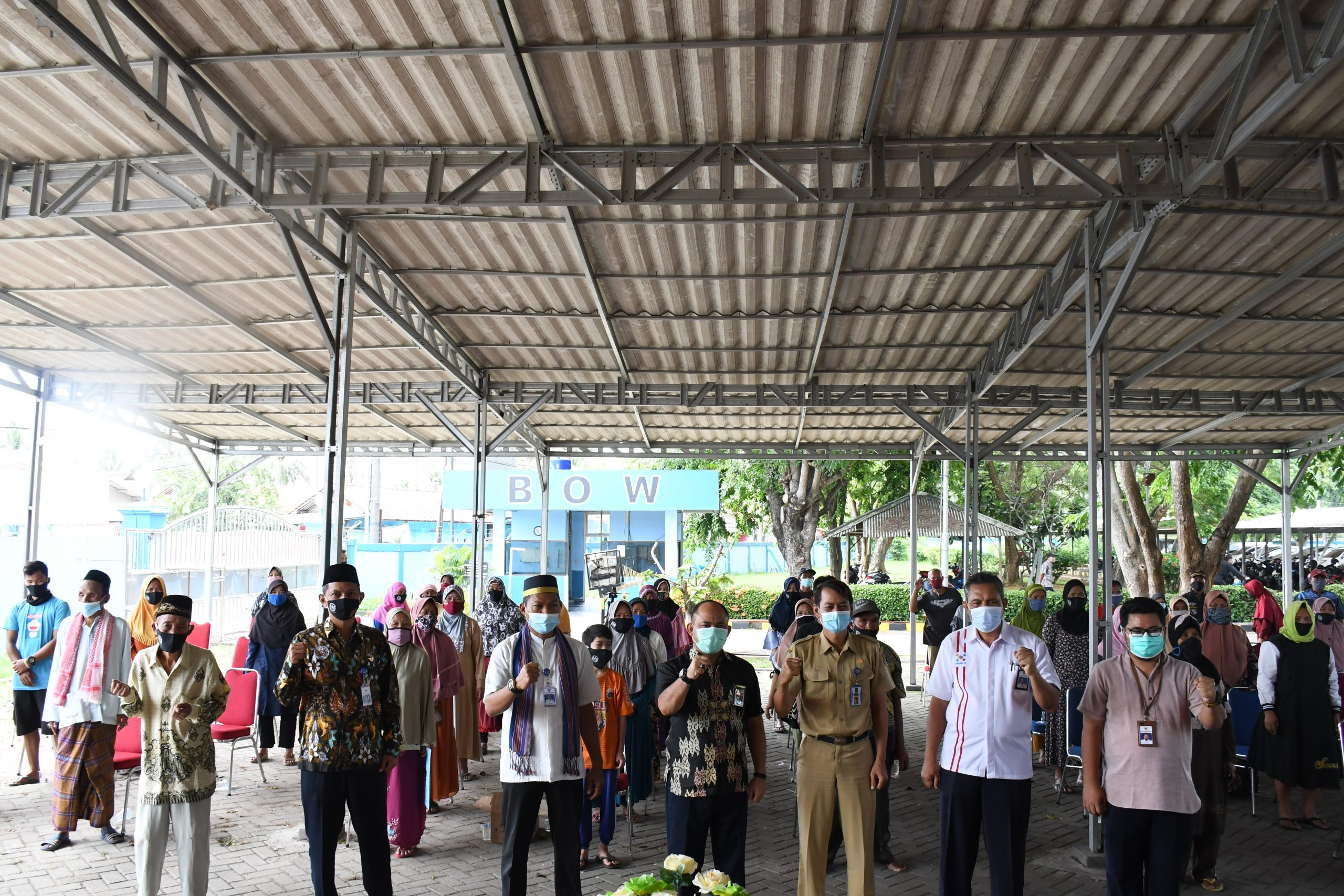 Politeknik Pelayaran Banten Peduli Covid – 19